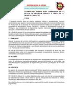 Directiva Municipalidad de Chiclayo Impresion