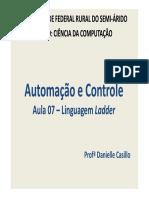 Aula 07 - Linguagem Ladder.pdf