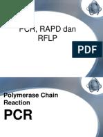 Pcr, Rapd Dan Rflp