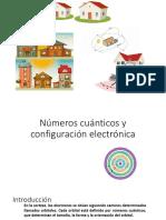Números Cuánticos y Configuracion Electronica