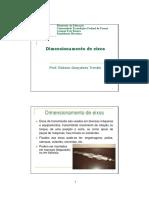 02-Dimensionamento de Eixos