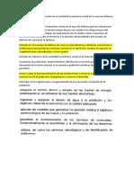 La Organización y Preparación de La Actividad Económico