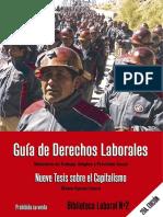 Guía de derechos laborales Estado Plurinacional de Bolivia
