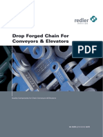 Drop Forged Chain for Conveyors Elevators