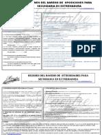(7) BAREMO Secundaria -Abierto