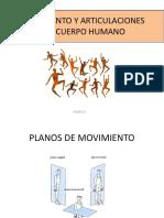 Movimiento y Articulaciones Del Cuerpo Humano Expo.