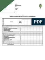 Instrumento de Evaluación de Actuacióno Docente