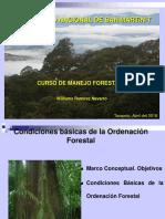 2 Condiciones Básicas de La Ordenación Forestal