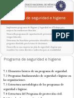 Programa de Seguridad e Higiene