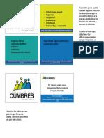 Adhesivos y Tarjeta de Presentacion Consulta Dental Cumbres