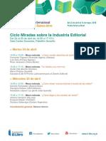 Programa Miradas 2018