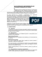 8.1.1.-Manual de Operación y Mantenimiento de Las Captaciones de Manantial de Ladera