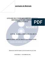 UFOP-CORTINA AnáliseComportamentoTensão