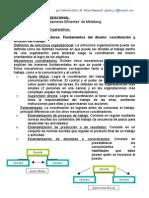 TEMARIO. estructura organizacional
