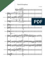 Classical Symphony Sibelius