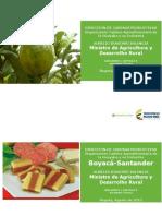 002 - Cifras Sectoriales – 2015 Agosto - Boyaca Santander