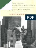 Marichal Salinas, Carlos- Nueva Historia de Las Grandes Crisis Financieras