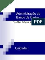 Administracao de Banco de Dados - Unidade I, II, III e IV.pdf