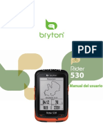 Manual GPS Brytn 530T