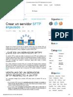 Crea Nuestro Propio Servidor SFTP Enjaulado Para Los Usuarios
