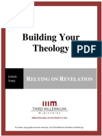Building Your Theology – Lesson 3 – Transcript