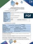 Guia de Actividades y Rúbrica de Evaluación - Fase 3 - Planear y Construir El Trabajo Respecto a Las Decisiones Bajo Un Entorno de Incertidumbre