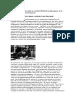 El Programa de La Filosofia Venidera Benjamin