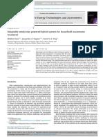 Sistema Híbrido Adaptable Eólico Solar Para El Tratamiento de Aguas Residuales Domésticas