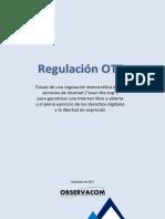 Claves Para La Regulación de Los Servicios OTT OBSERVACOM 1