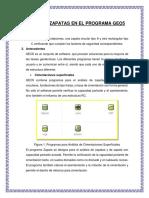 Diseño de Zapatas en El Programa Geo5 2