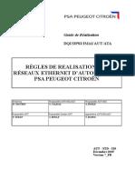 Aut Std 520 Regles de Realisation Des Reseaux Ethernet d Automatisme v7