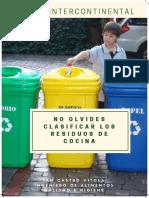 Clasificación Residuos de Cocina