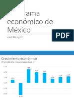 Panorama Económico de México 2016.