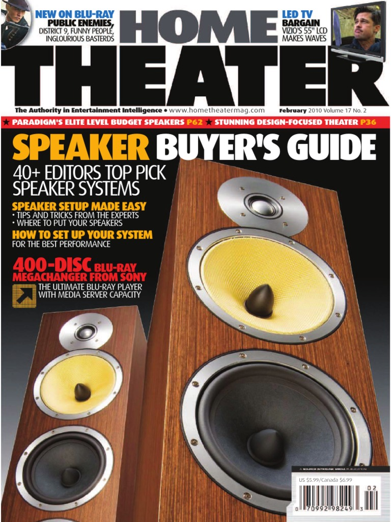 Home theater february 2010   Loudspeaker   Sound Recording