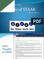 STAAR Presentation