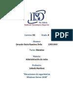 Mecanismos de Seguridad - Administracion de Redes