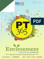 VisionIAS PT365 Environment 2018