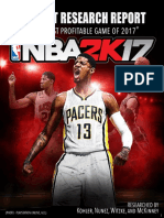 Market Research Report-NBA 2K17