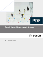 Bosch VMS Operation Manual EsES 22547318795