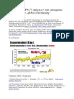 """Climategate - CFACT Präsentiert Vier Unbequeme Fakten Über Die """"Globale Erwärmung"""""""
