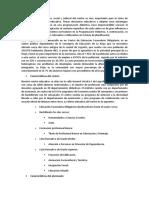 Contexto Sociocultural Centro