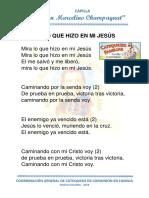 Canto Caminando Con Jesus