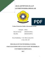 Evaluasi Desain Dan Fasilitas Laboratorium FKIP Kimia