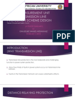 Presentation on PMU Based Transmission Line Protection Scheme (A Paper Summary)