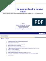 Actualizacion v5 Procedimiento Invertex Ie