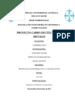 Pontificia Universidad Católica Del Ecuador Metales