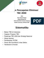 Percepatan Pencapaian Eliminasi TB 2030 Seminar