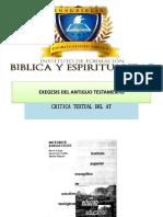 Crítica Textual Del a.T.