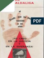 Pedro Casaldaliga CREDO PDF