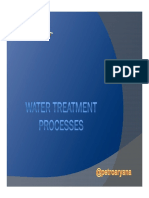 Water Treatment Processes